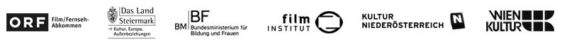 Supported by ORF Film/Fernsehabkommen; Das Land Steiermark; BMBF Bundesministerium für Bildung und Frauen; Österreichisches Film Institut; Kultur Niederösterreich; MA7 Wien Kultur